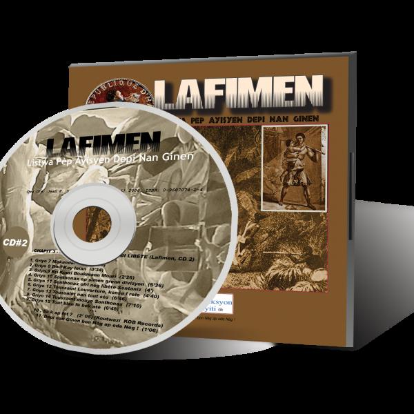 Lafimen CD 2 Cover